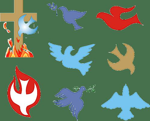Christian Symbols Illustrated Glossary Dove