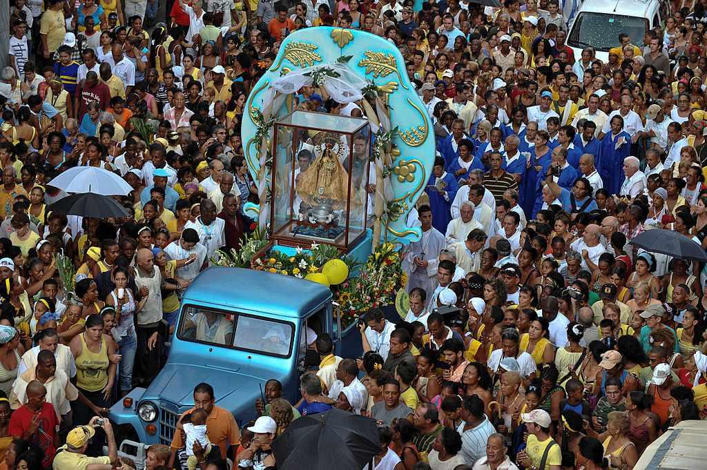 Celebration of Oshun in Havana
