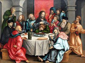 The Last Supper by Hans Leonhard Schäufelein (1511)