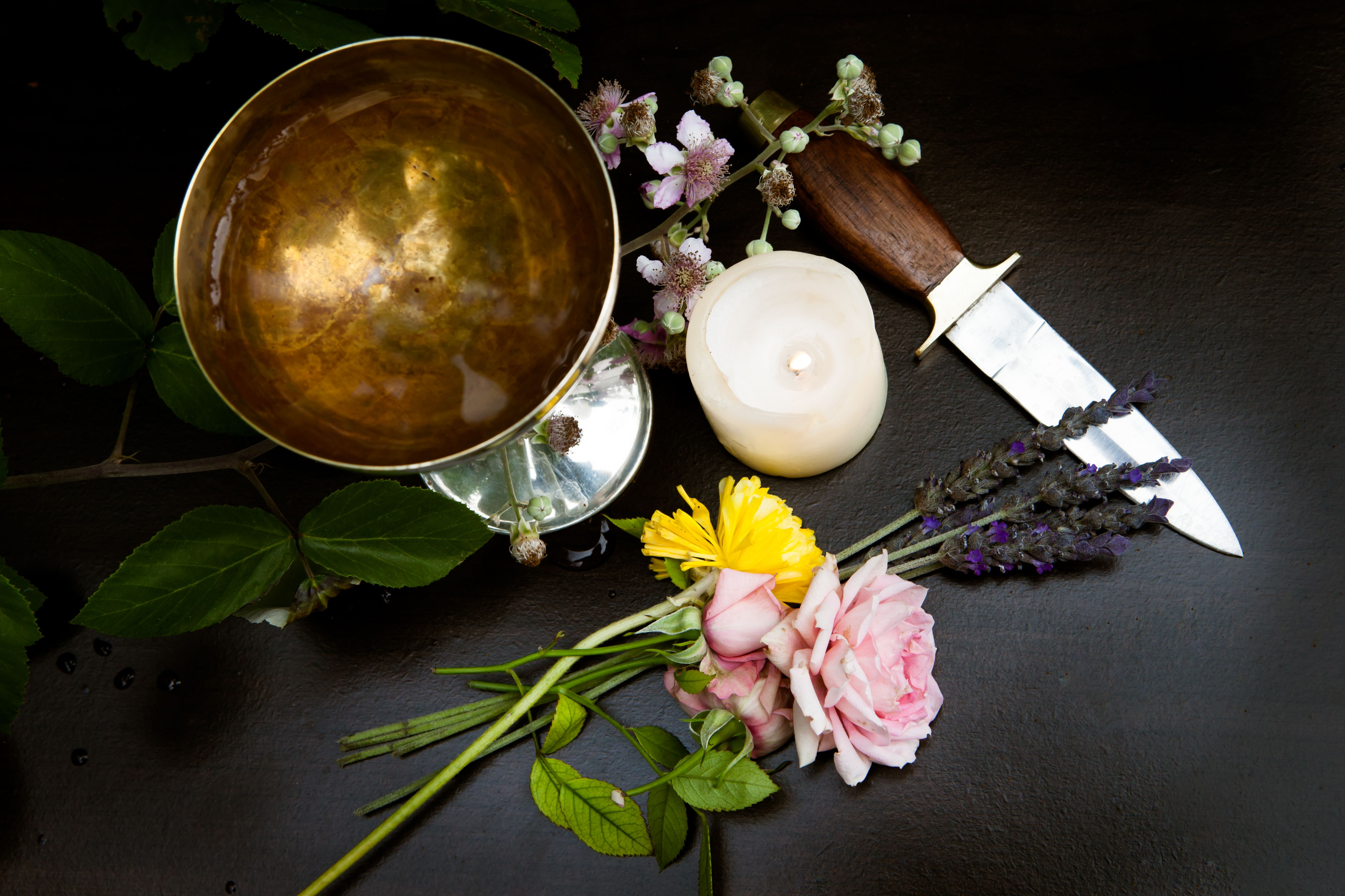 Pagan Altar for Early Summer