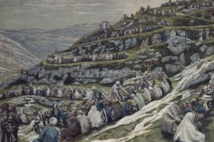 Miracle of the Loaves and Fishes by James Tissot