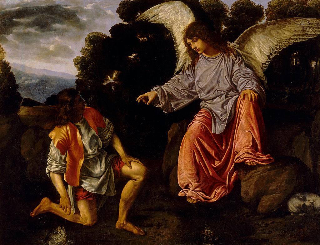 Tobias and the Angel by Girolamo Savoldo