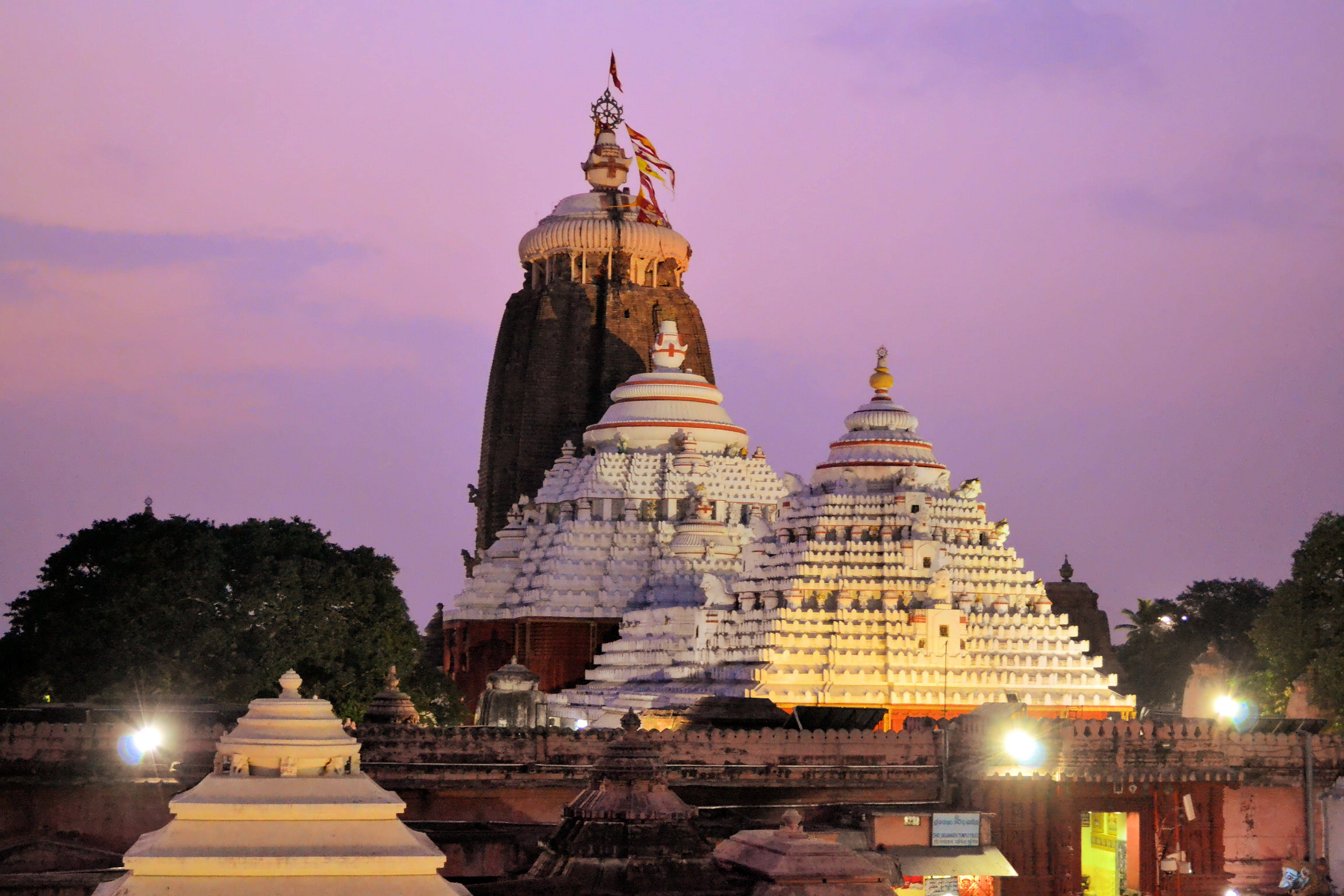 Jagannath Temple in Puri, Orissa, India