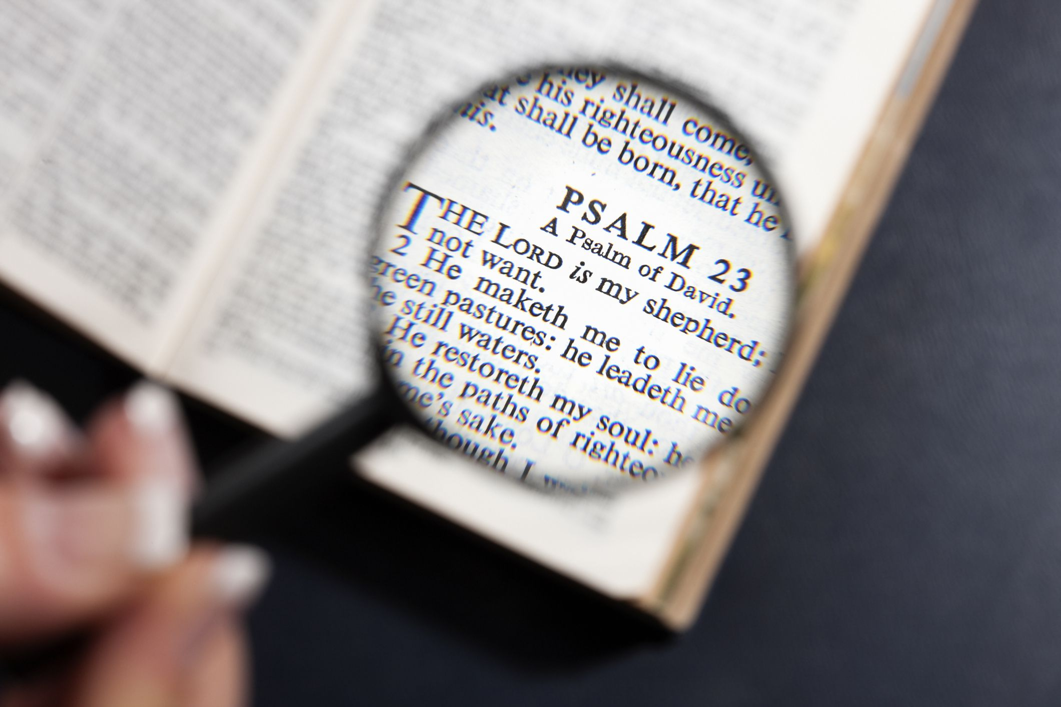 The Lord Is My Shepherd - Lessons From Psalm 23