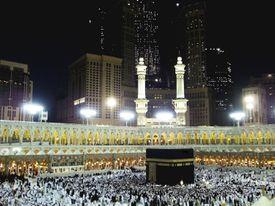 Mecca during hajj