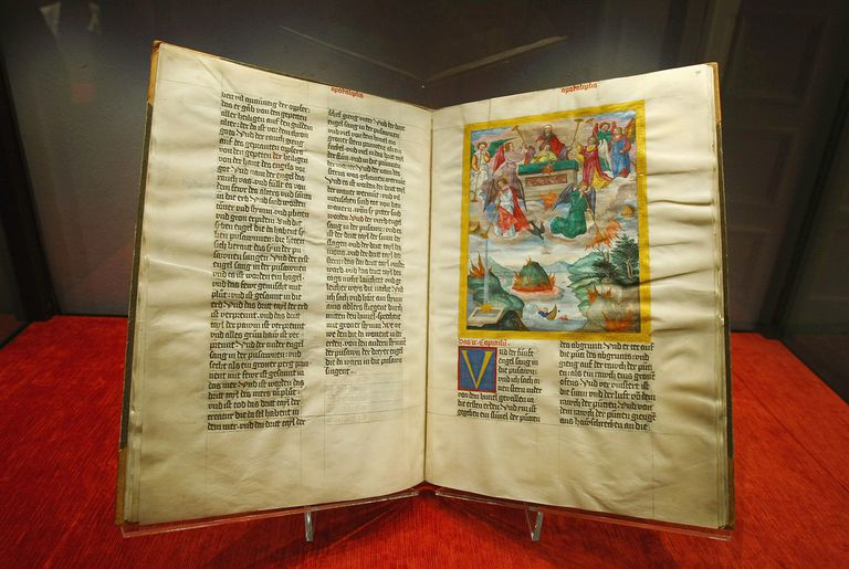 Ottheinrich Bible Presented In Munich