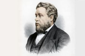 Lithograph of Charles Spurgeon
