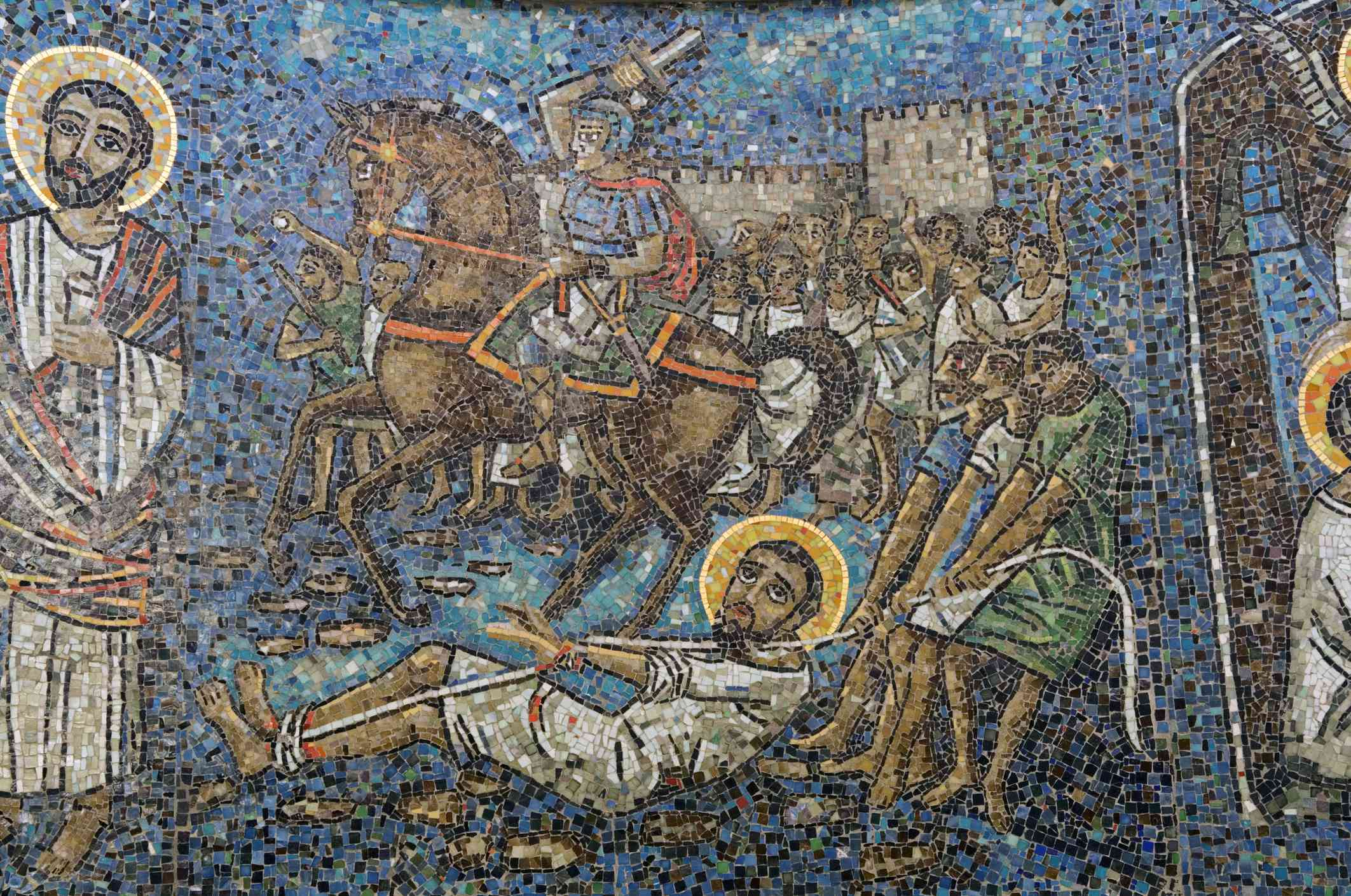 Mosaic of St. Mark in Coptic Orthodox Cathedral