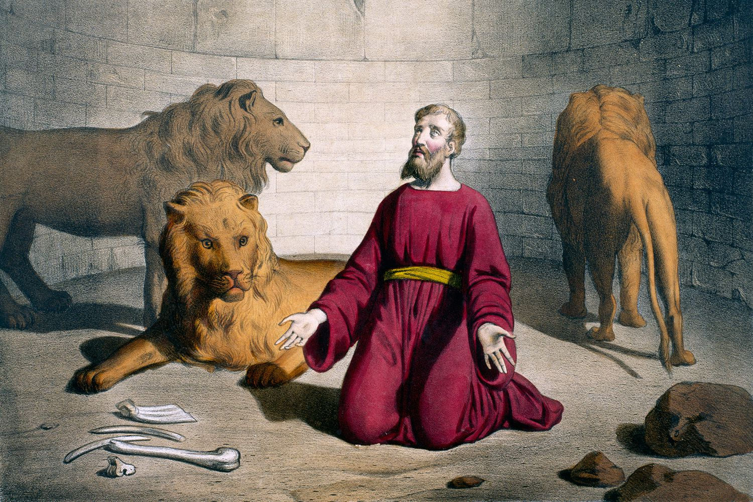 Daniel in the Lions' Den Bible Story and Lessons