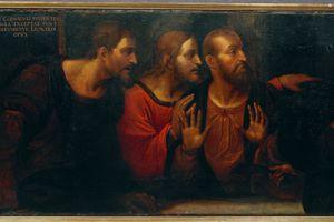 The Apostles Bartholomew, James, and Andrew