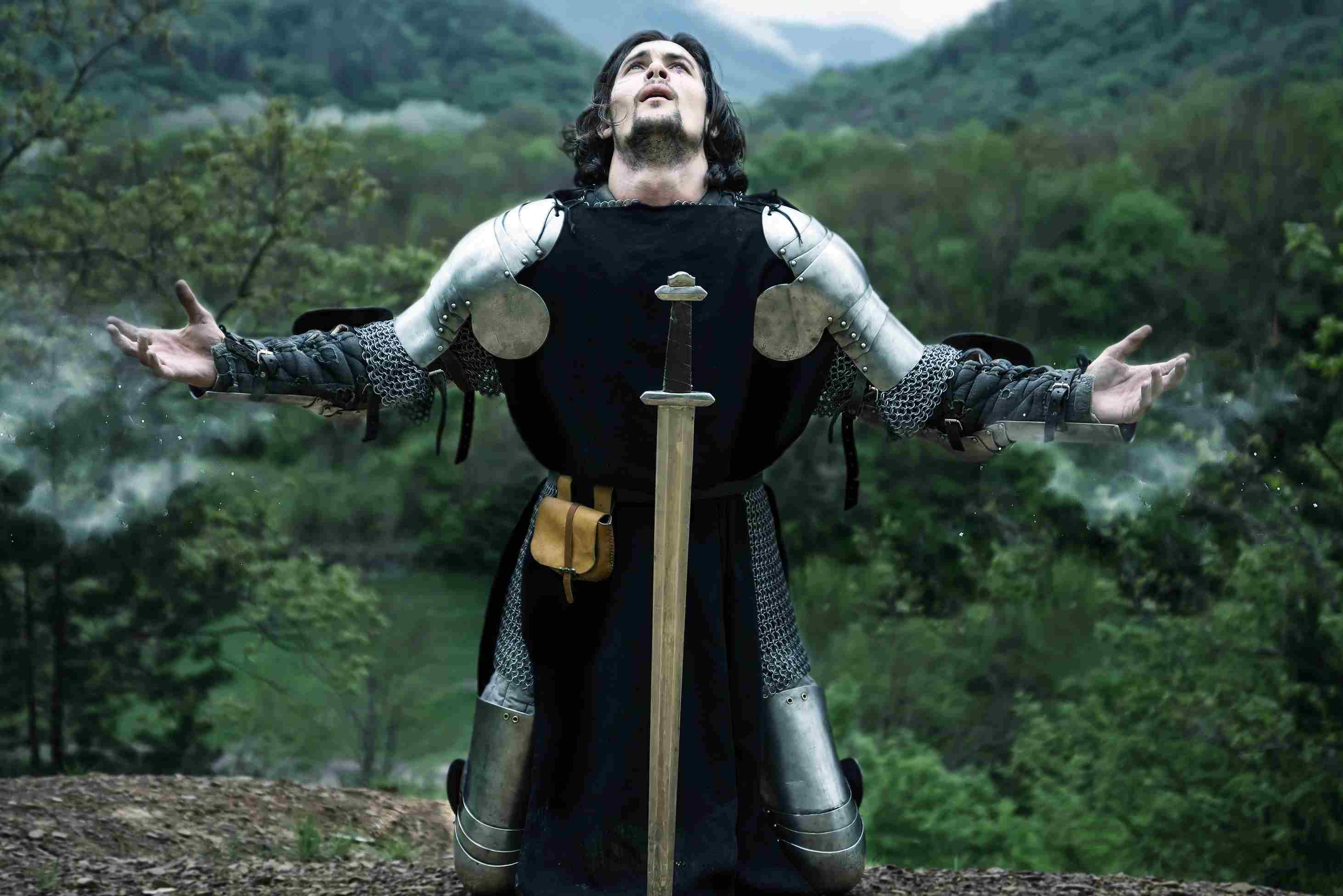 Knight in Prayer