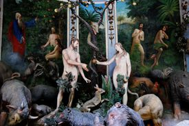 Adam and Eve (original sin) chapel