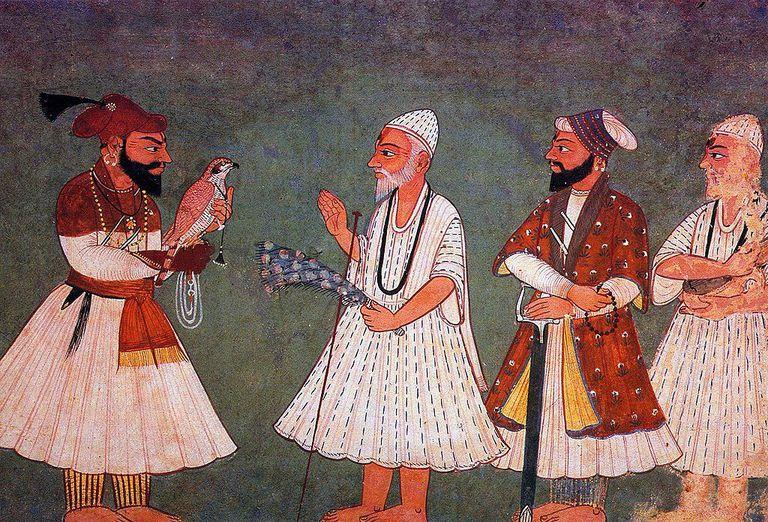 Guru Gobind Singh meets Guru Nanak Dev