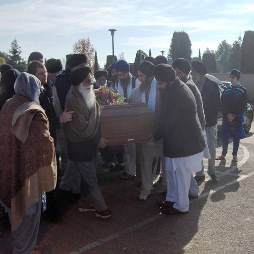 Antam Sanskar Sikhism Funeral