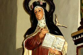 St. Teresa of Avila, Mission San Juan Capistrano, CA. (Photo by flickr user DominusVobiscum)